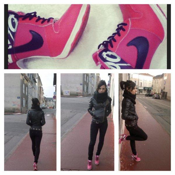 Nike talon pink hey ouais !