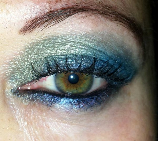 Mon Make up de la St Sylvestre 2012