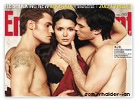 Voici un très beau shoot de nos trois co-stars pour le magazine EW. Il sortira aux USA le 12 Février.