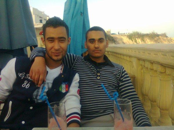 Avec Bilel