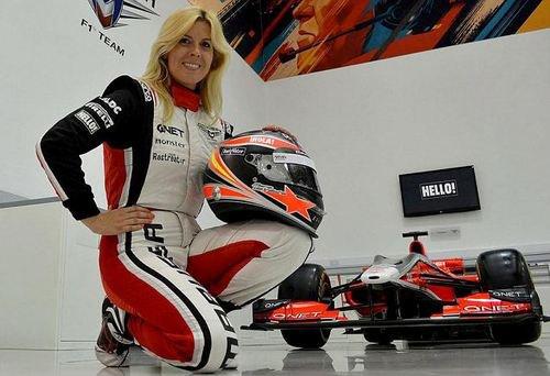 Marussia pilote d'essai Maria De Villota grièvement blessé dans un accident