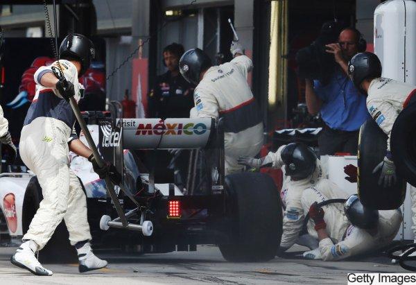 Webber gagne a quelque seconde