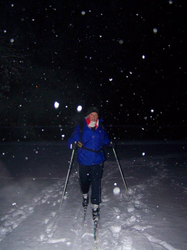 Du ski de fond...