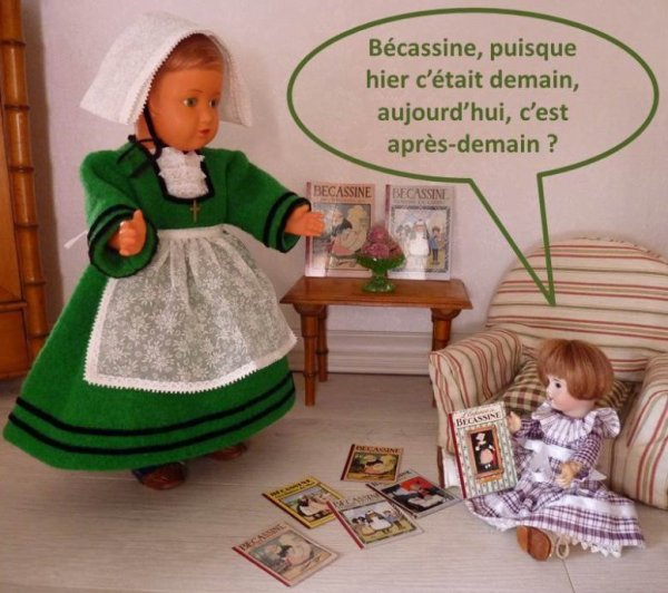 L'ANNIVERSAIRE DE BECASSINE - 3 -