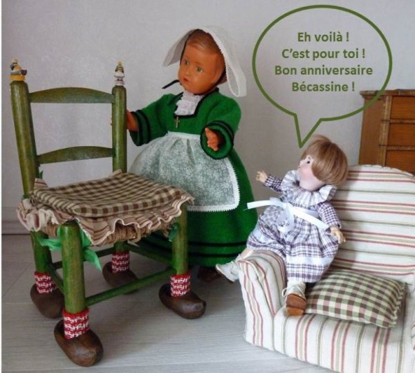 L'ANNIVERSAIRE DE BECASSINE - 3 -