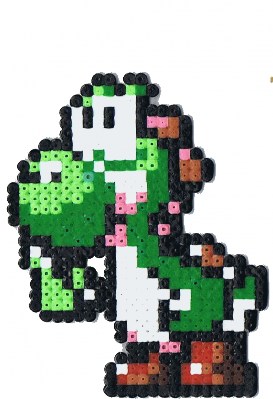 Modéle gratuit : Yoshi (Super Mario Bros)