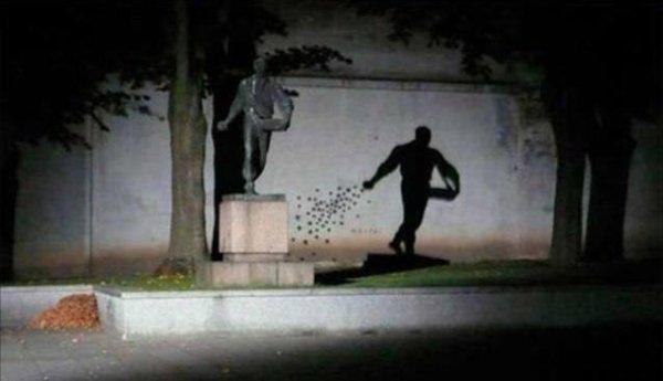 Une illusion impossible à deviner en plein jour (suite)