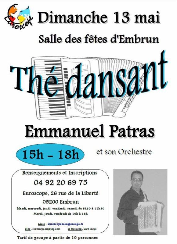 THE DANSANT avec EMMANUEL PATRAS !!