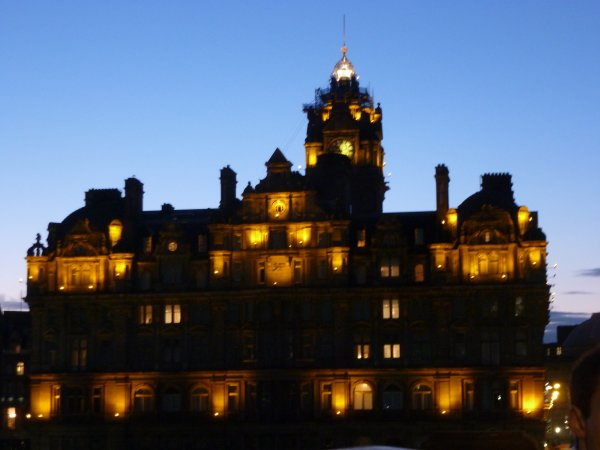 Edinburgh toujours