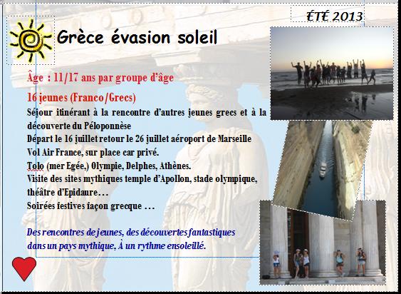 INFOS SEJOUR GRECE