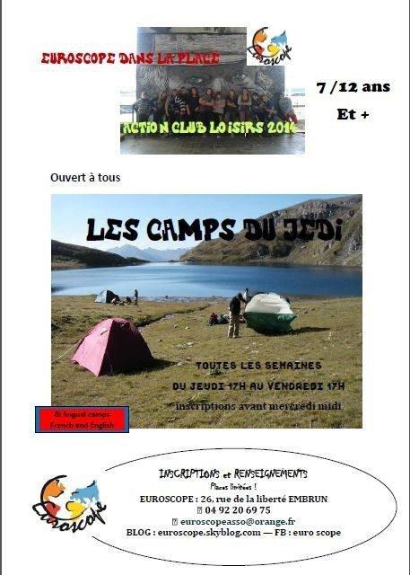 CAMP DES JEDIS