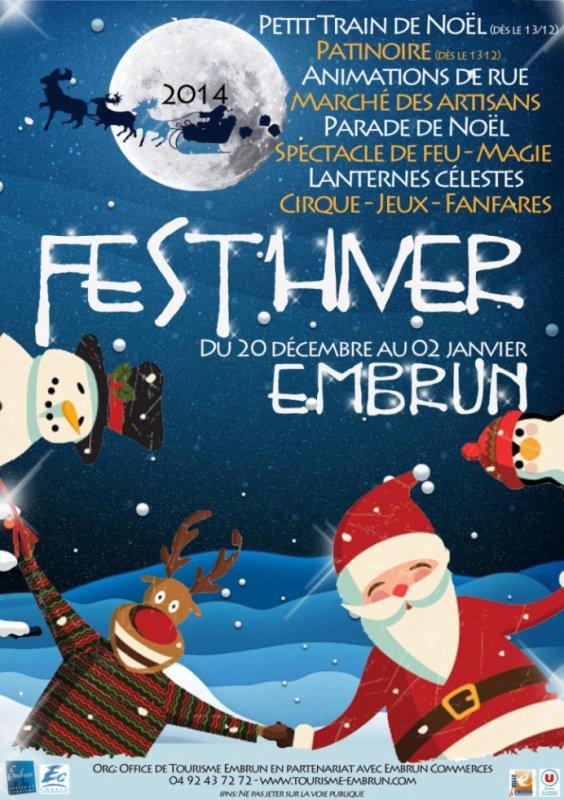 Euroscope acteur du fest'hiver d'Embrun !