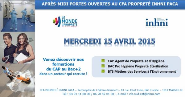 PORTES OUVERTES au CFA Propreté