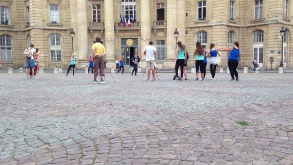 Quelques photo de notre première étape à Paris