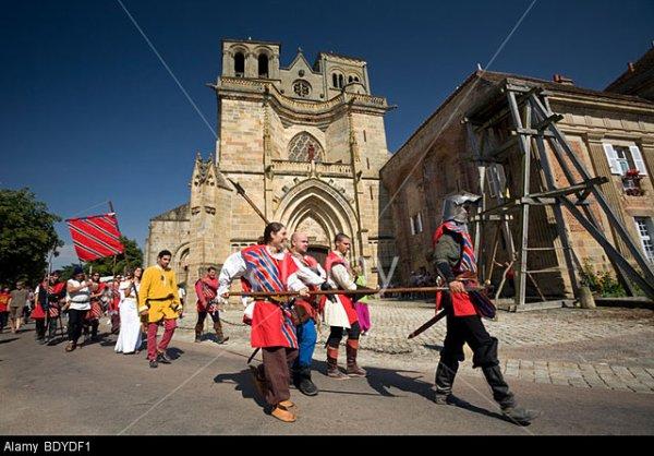 Camps médiéval sur le départ...
