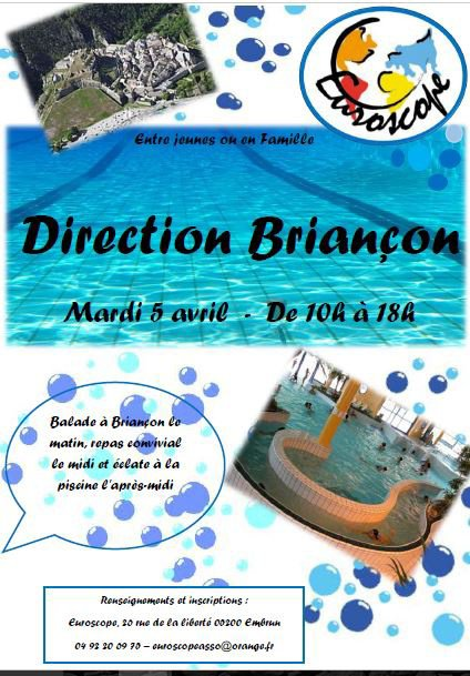 Comme une envie de fraicheur...Viens te baigner à Briançon!