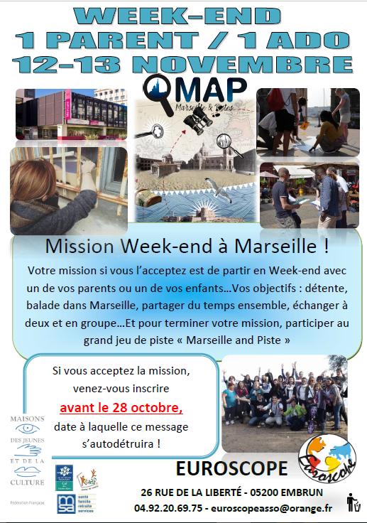Détente et jeu de piste à Marseille