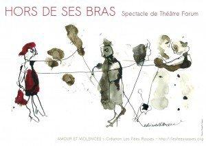 """Spectacle """"HORS DE SES BRAS"""" SAMEDI 26 NOVEMBRE à 20h à la salle des fêtes de Méreuil"""
