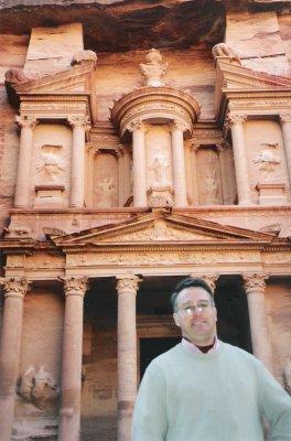 1ère merveille du monde visitée: le site de Petra en Jordanie - 31/01/2000