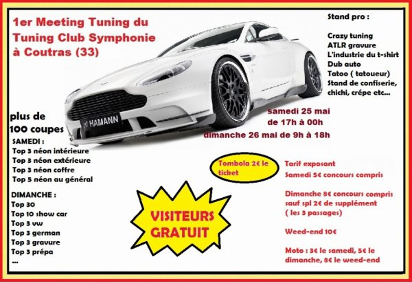1er Meeting du Tuning Club Symphonie