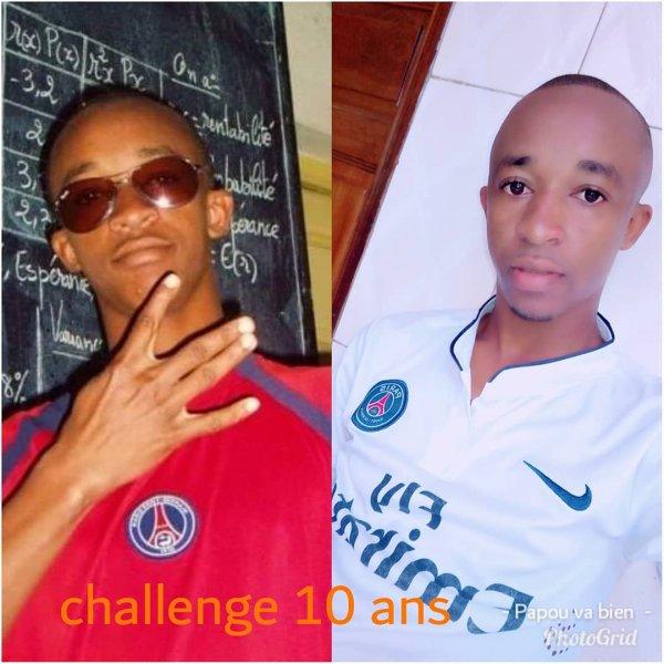 10 ans challenge