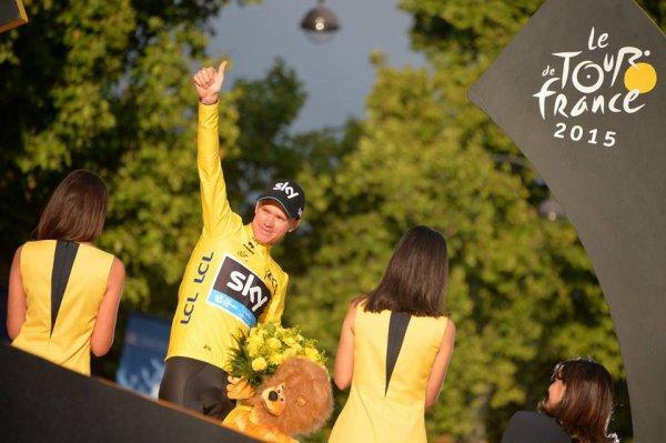 Chris Froome Vainqueur du Tour de france 2015