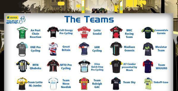 La premier participation de la Team Wiggins au tour de grande Bretagne