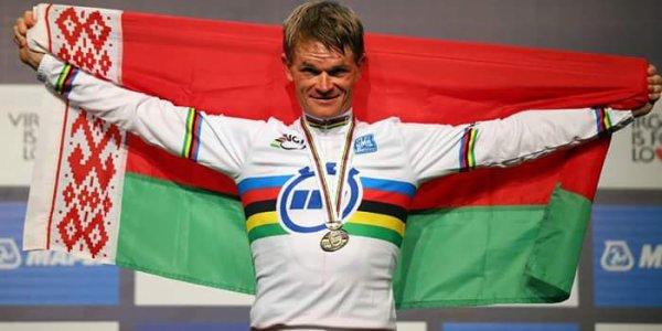 Vasil Kiryienka champion du monde du contre-la-montre