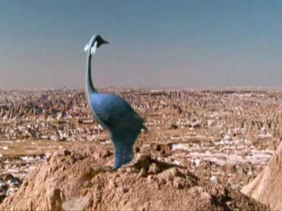 Grand planeur bleu
