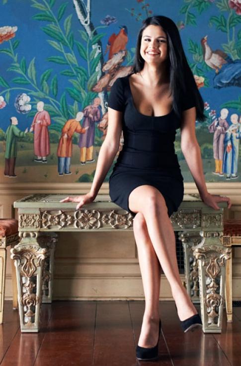 Selena gomez ses photoshoot pour Forbes magazine
