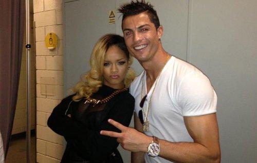 La sexy Rihanna et le beau Cristiano Ronaldo !