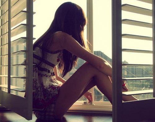 regarder par la fenêtre!