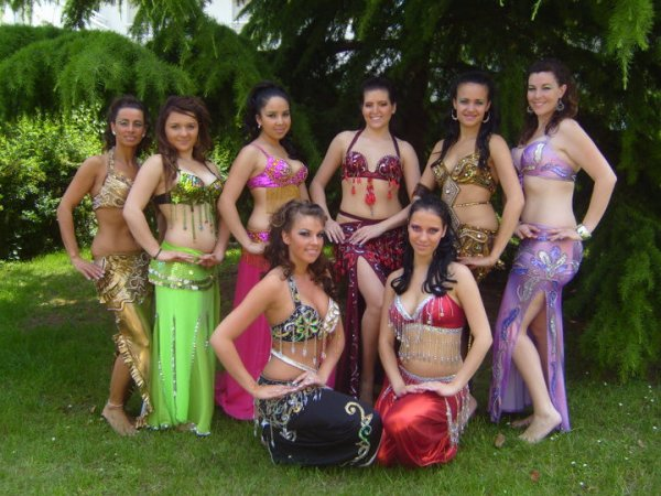 Compagnie Al Banat Noor  spectacle de fin d'année 2010