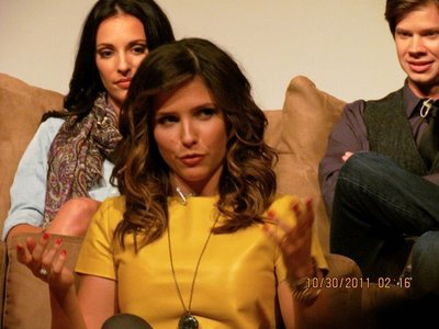 Sophia Bush le 30 octobre 2011