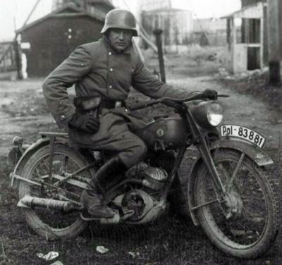 Ardie VF 125 ...Moto armée allemande - Wehrmacht 1940-1943