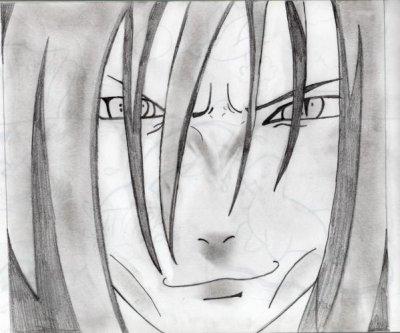 orochimaru dessin