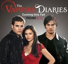 une serie que jaime bien aussi : Vampires Diaries
