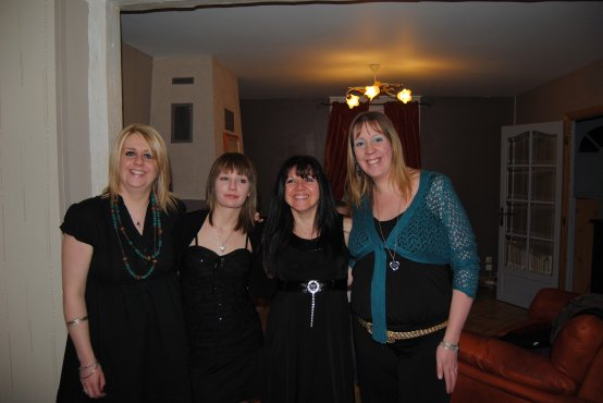 quelque photos de notre soirée de nouvel an