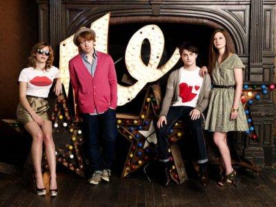 Emma Watson Daniel Radcliffe Rupert Grint Bonnie Wright