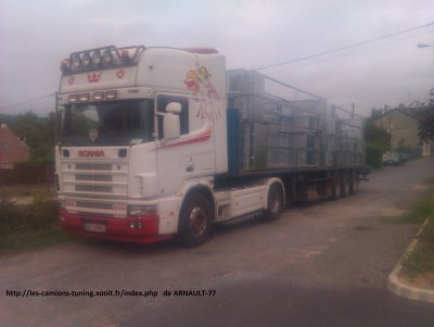 SCANIA V8 580 TRANSPORT BRUNO