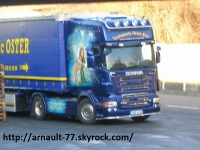 SCANIA TRANSPORT OSTER ERIC