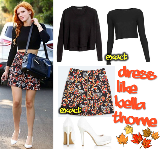 Dress like Bella Thorne
