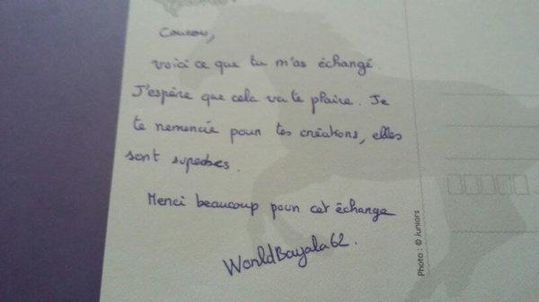 Petite boîte au lettre !  #2 échange avec worldbayala62