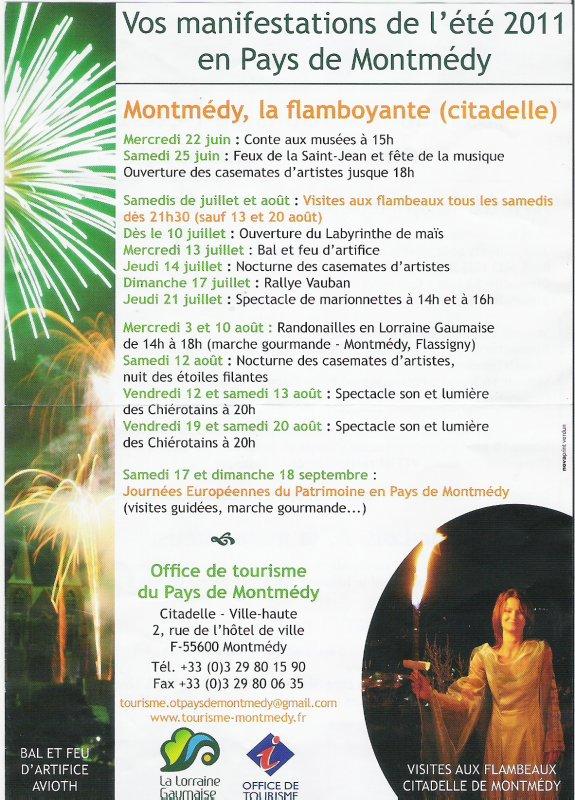 Visites aux flambeaux 2011