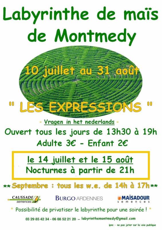 Labyrinthe de maïs de Montmedy