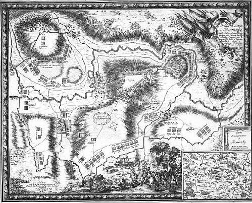 Plan de la ville de Montmedy (1657)