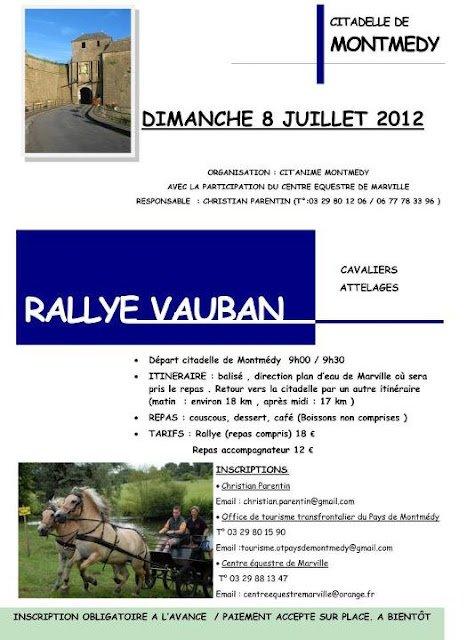 Rallye Vauban 2012