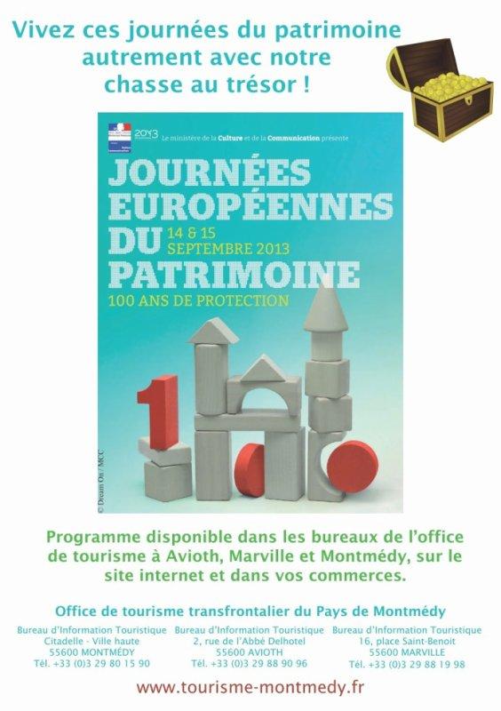 Journées du Patrimoine exceptionnelles en Pays de Montmédy