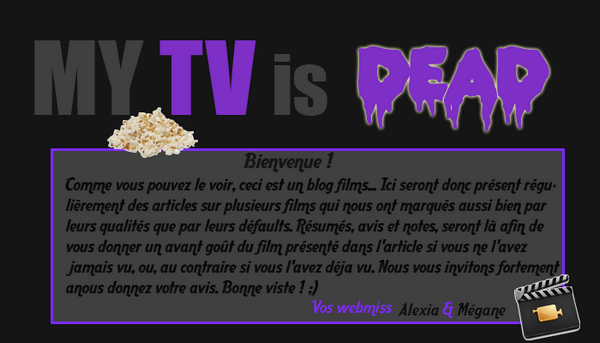 Bienvenue sur My TV is DEAD