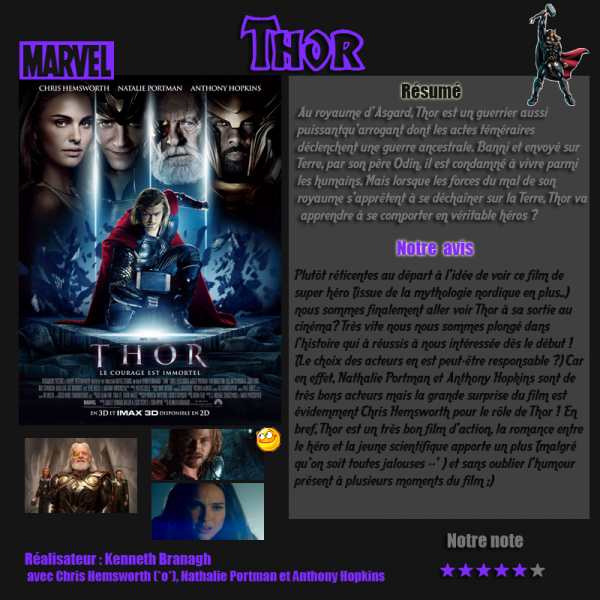 Article-films Thor (action, fantastique)